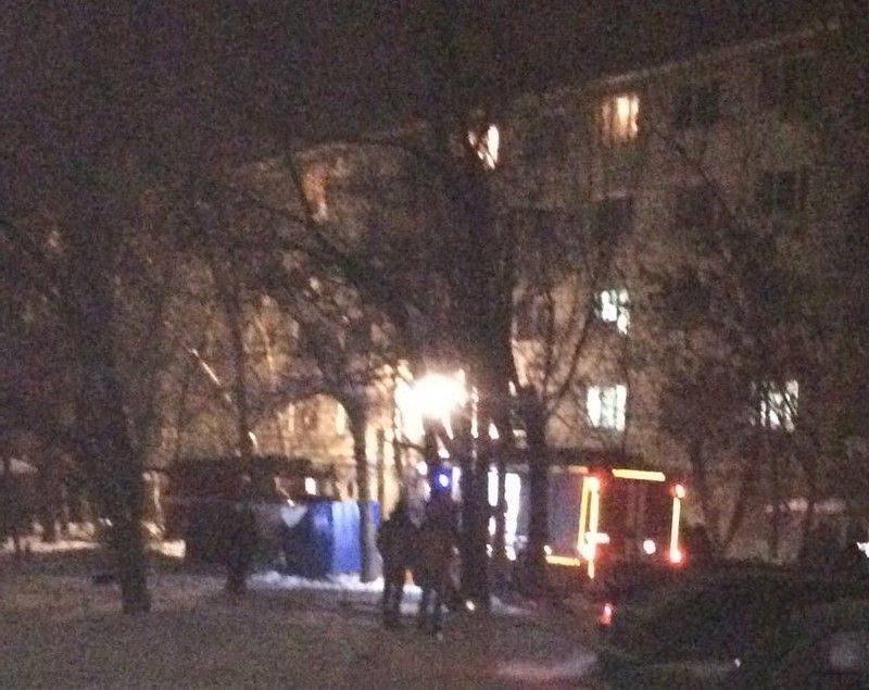 Пожар в волжском общежитии: есть жертвы