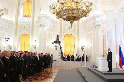 Путин завершил 13-е Послание к Федеральному собранию