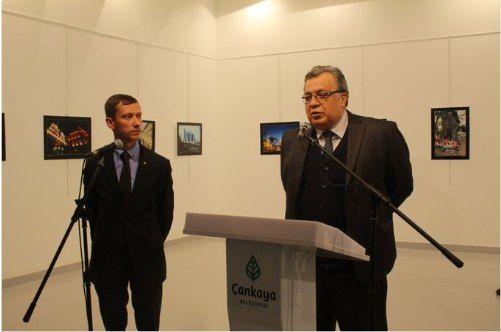 В Анкаре совершено нападение на российского посла Андрея Карлова
