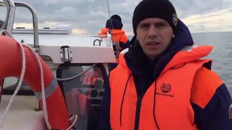 Зона поисковой операции в районе крушения Ту-154 расширена. ВИДЕО