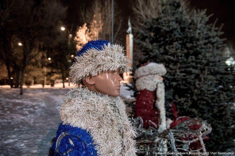 В Волгограде обнаружилась Снегурочка-трансвестит