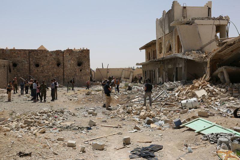 Раненый в Сирии медик оказался главным педиатром Министерства обороны