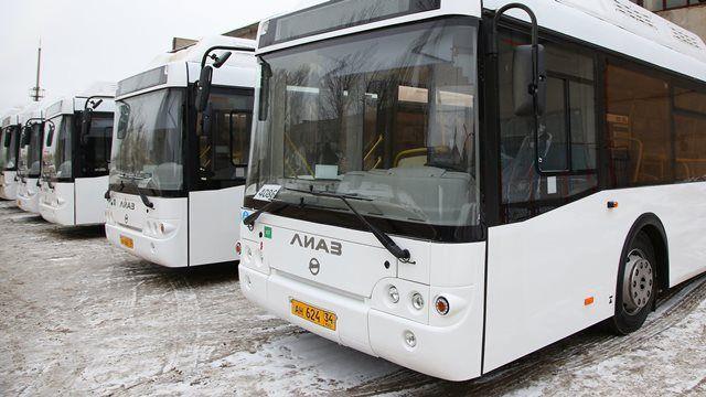 В Волгограде запустили два новых автобуса