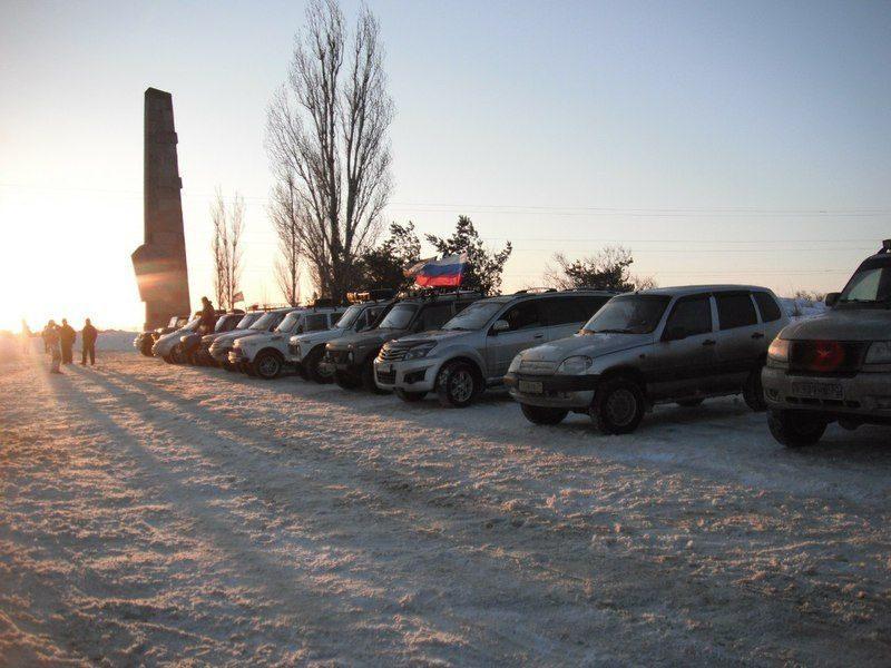 Волгоградских водителей внедорожников приглашают на Рейд Памяти