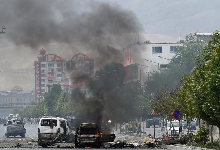 В Кабуле возле российского посольства произошёл двойной теракт