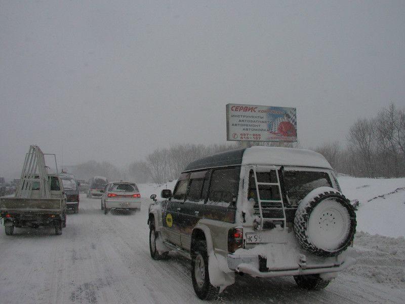 Непогода сковала Волгоград