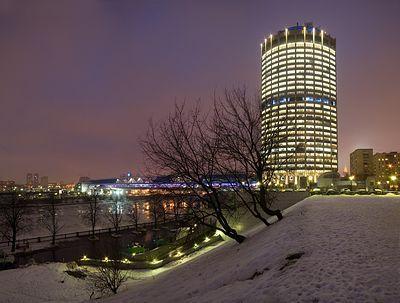 "С 86-го этажа башни ""Москва-Сити"" выпал человек"