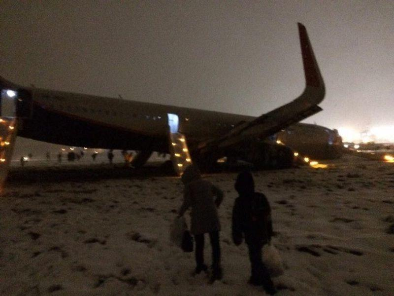 Калининградский аэропорт оказался не готов к аварийным ситуациям