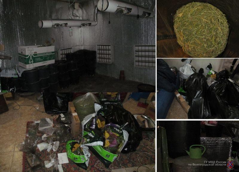 Под Волгоградом полиция накрыла нарколабораторию