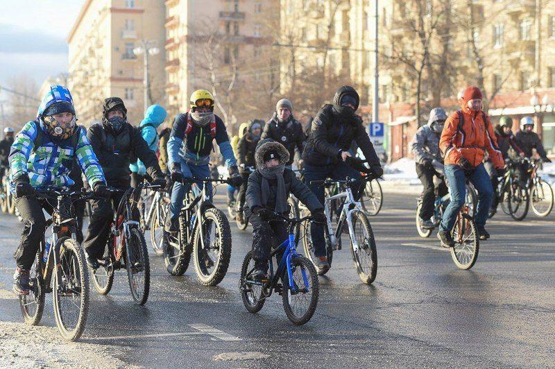 Волгоградцы встретят Старый Новый Год велопробегом