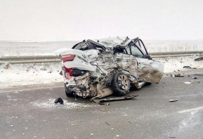Страшная авария под Волгоградом унесла жизни трёх женщин и ребёнка