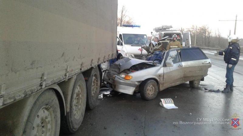 Ошибка водителя привела к дорожной трагедии