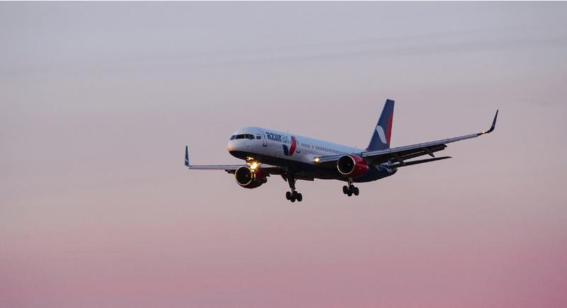 В Новосибирском аэропорту сел самолет с неисправным шасси