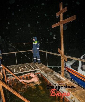 За ночь в купели Волгограда окунулись более 6 тысяч человек