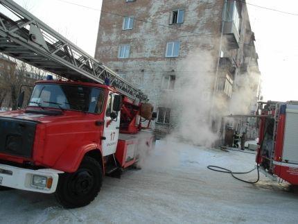 В жилом доме Красноярска произошёл взрыв бытового газа