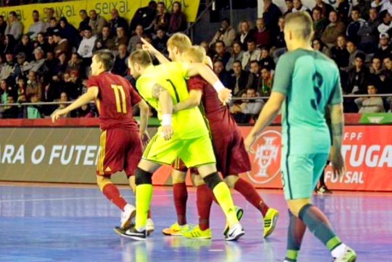 Ничья и победа в Португалии