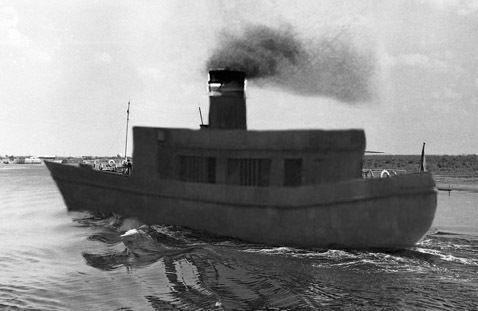 На Москве-реке заметили корабль-призрак