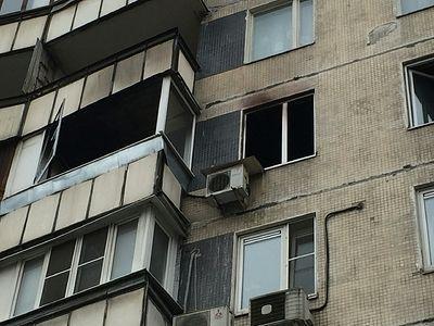 На севере Волгограда при пожаре в пятиэтажке заживо сгорел мужчина