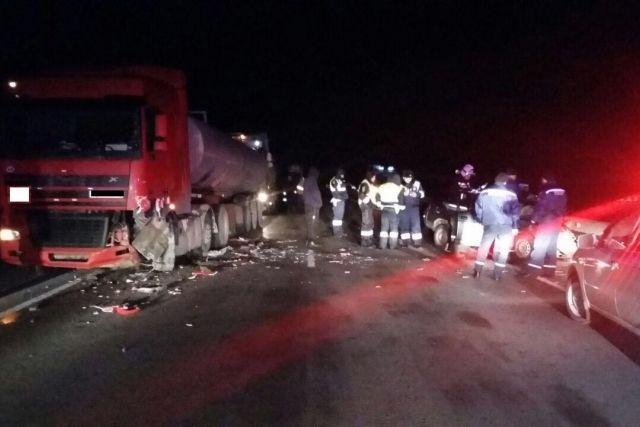 На трассе Волгоград — Каменск произошло смертельное ДТП