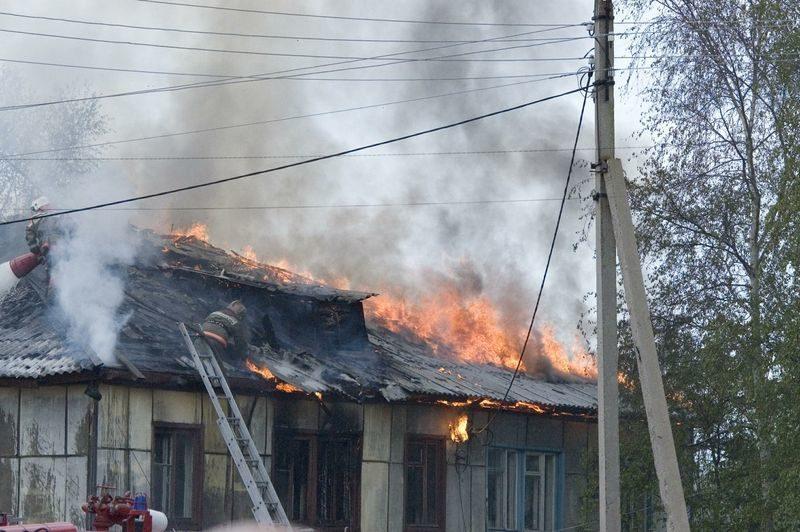 В Котово при пожаре погиб мужчина