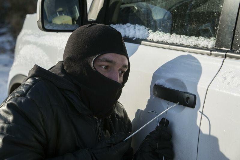 Полиция задержала автоугонщика