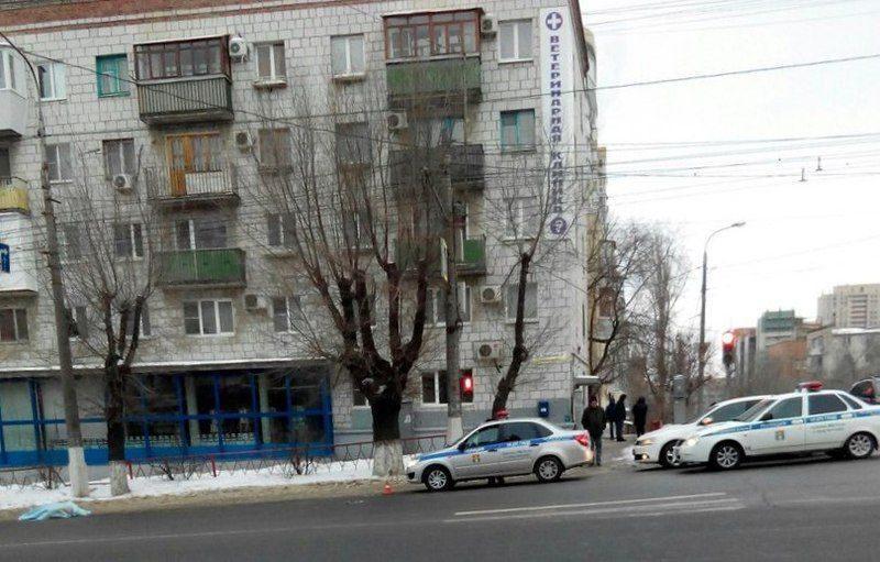 В центре Волгограда насмерть сбили пенсионерку