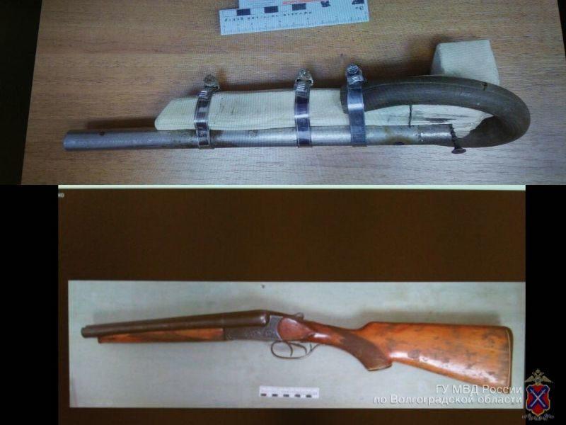 Волгоградец самостоятельно изготовил ружье