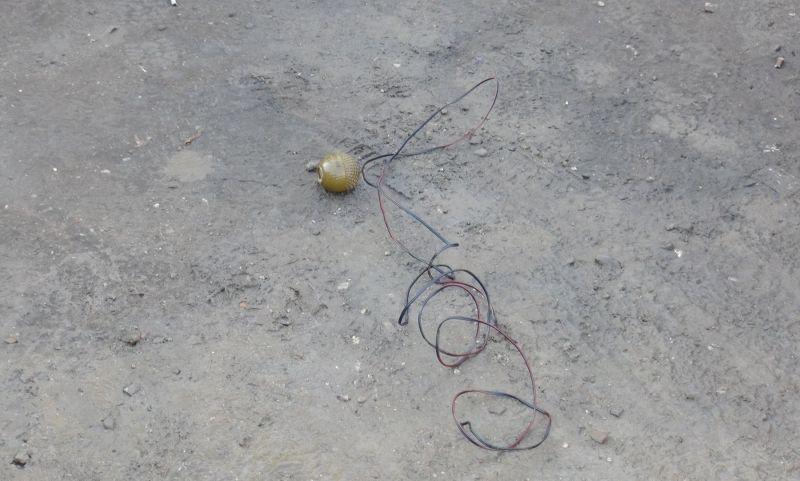 Астраханке подкинули в машину гранату
