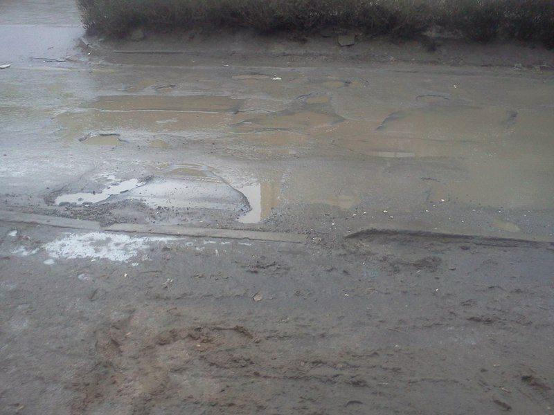 Ямочный ремонт сошел с дорог вместе со снегом