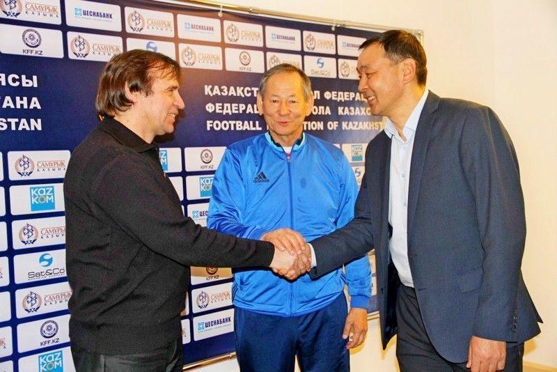 Александр Бородюк возглавил сборную Казахстана