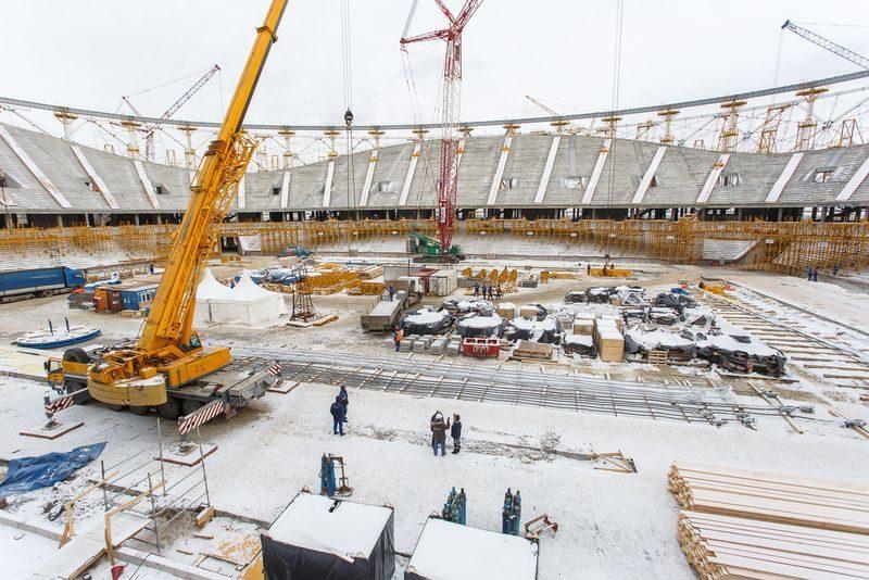 Стадиону «Волгоград Арена» остался триместр на завершение основных работ