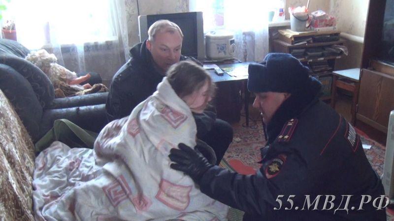 Освобождённая школьница Омск