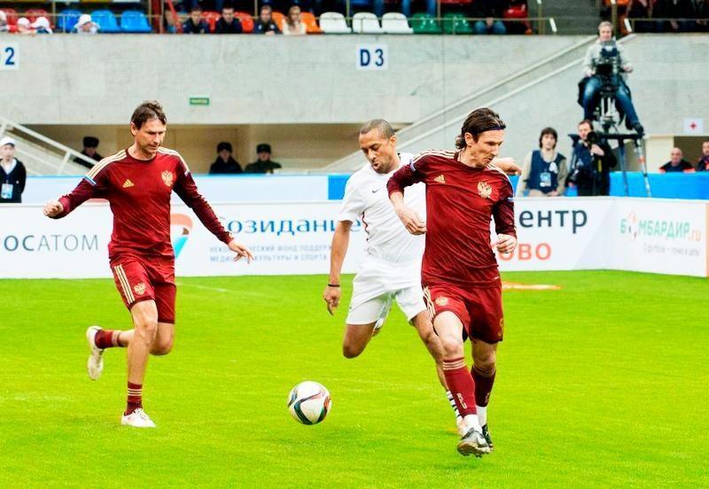 Сборная России обладатель «Кубка Легенд» – 2017