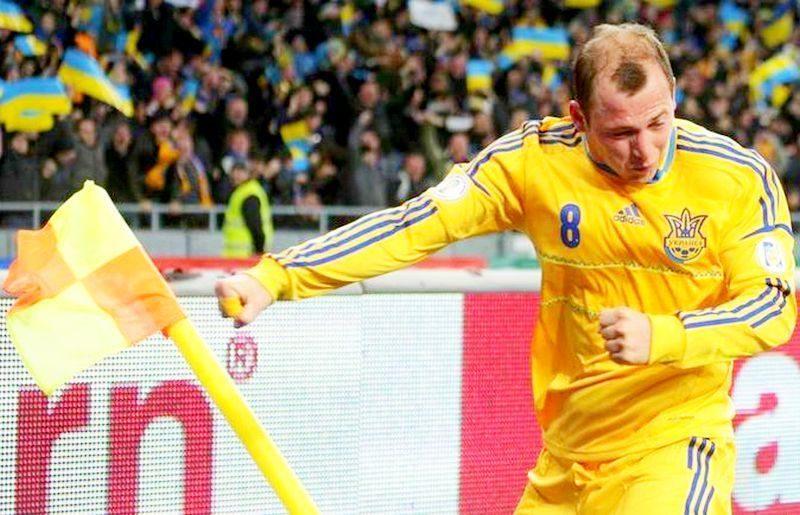Фанаты выгнали из клуба украинского футболиста