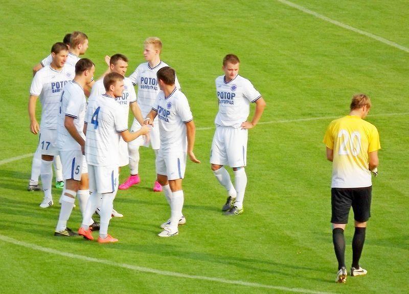 «Ротор-Волгоград» проиграл последний матч на УТС в Крымске