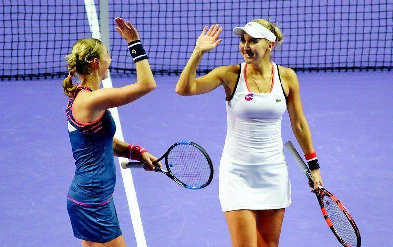 Веснина и Макарова выиграли турнир в Дубае