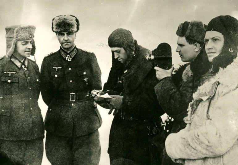 Паулюс был пленен 31 января 1943 года