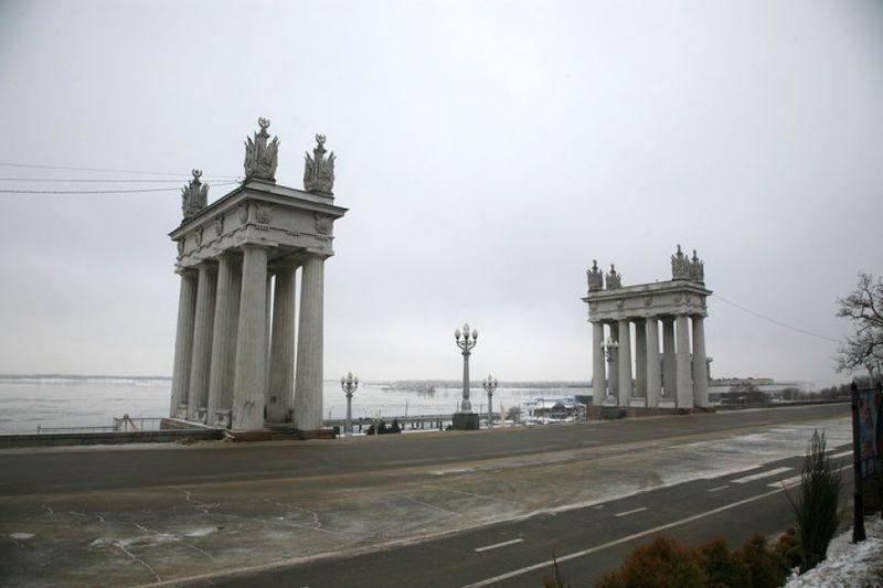 В Волгограде реконструируют набережную за 266 млн рублей