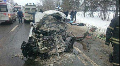 ДТП в Новой Москве унесло жизни 9 человек