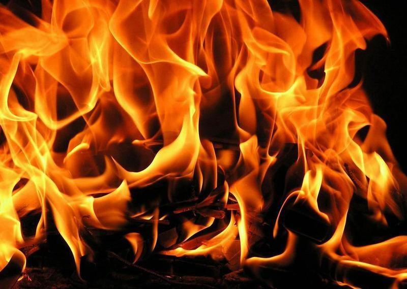 Пожар в Быковском районе унес жизнь мужчины