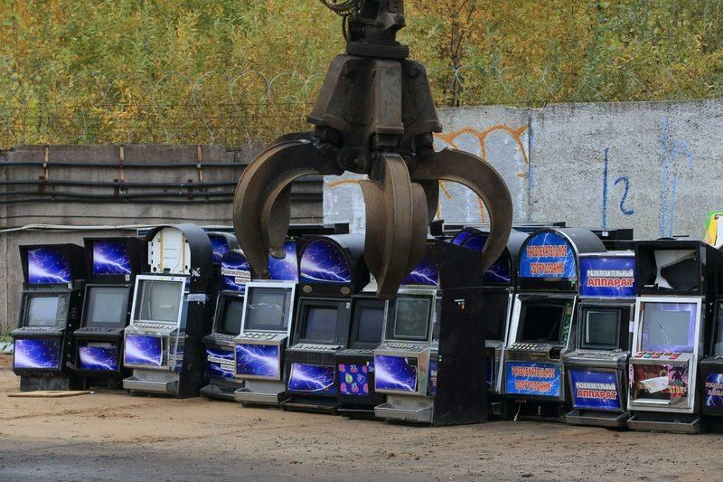 Незаконные игровые автоматы теперь будут уничтожать