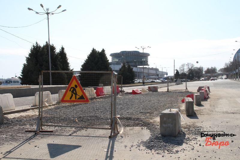 В Волгограде началось обновление Центральной набережной