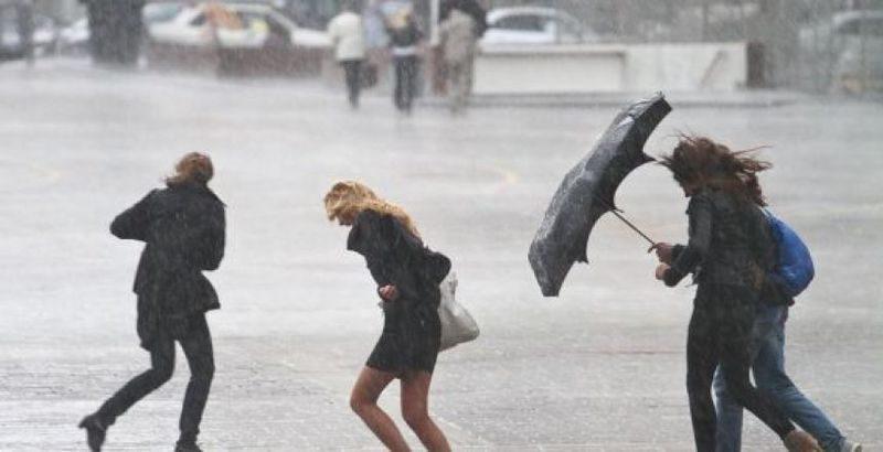 МЧС предупреждает о сильных порывах ветра