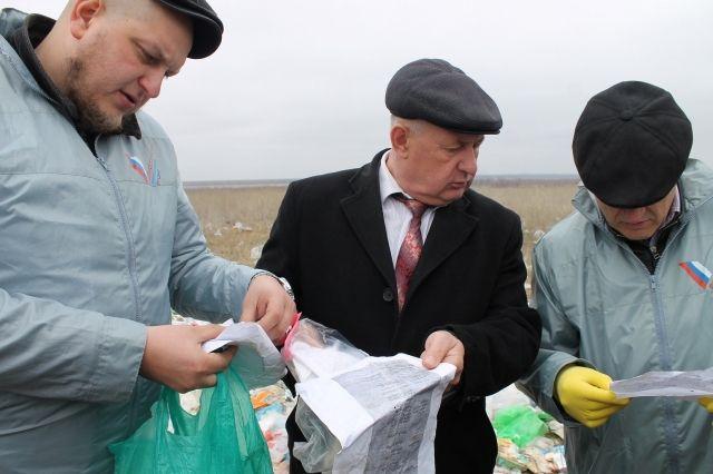 Жители Городищенского района утопают в мусоре