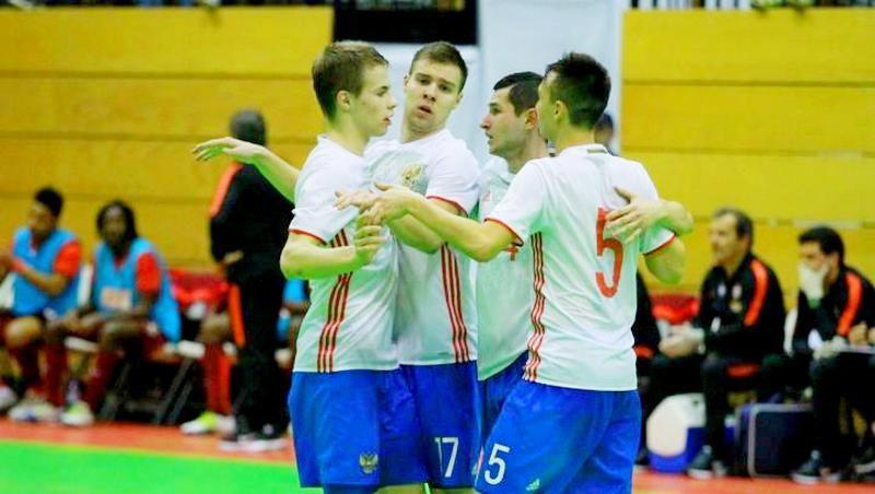 Российская «молодежка» дважды сыграла с Португалией