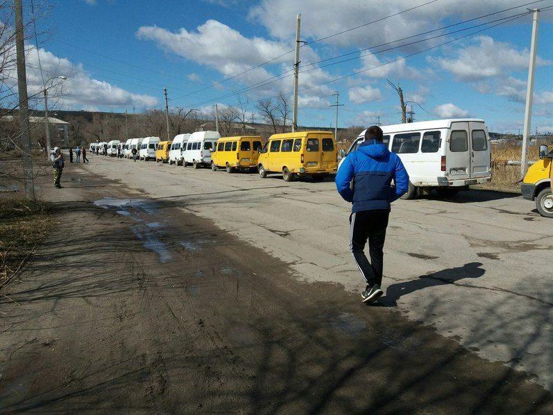 Забастовка маршрутчиков вызвала транспортный коллапс