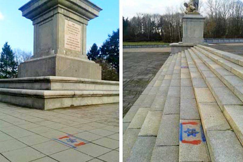 Польские вандалы осквернили кладбище воинов Красной Армии