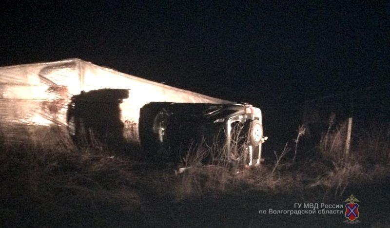 Под Волгоградом по вине пьяного водителя произошло смертельное ДТП