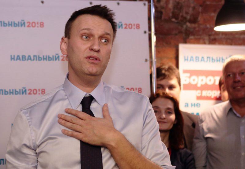 Навального пришлось защищать от разгневанных волгоградцев. Видео