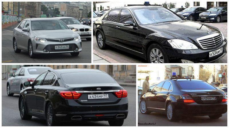 Автомобили Представительства Волгоградской области в Москве